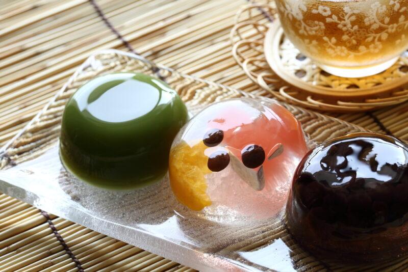 夏ギフトにおすすめな清涼感溢れる和菓子