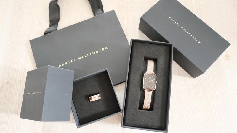 ダニエルウェリントンの腕時計とリング