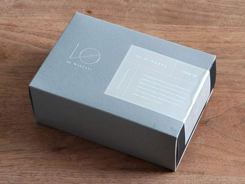 パッケージのデザイン  10mineets お取り寄せ レビュー 感想 口コミ