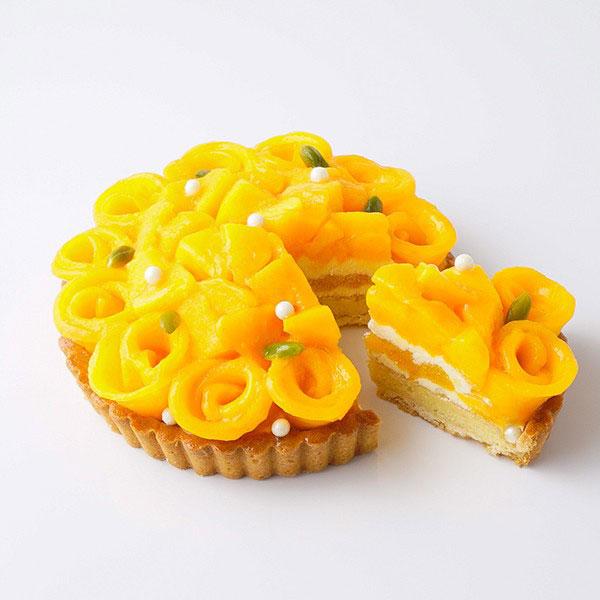 【SALON BAKE & TEA】タルト ア ラ マンゴーの商品写真
