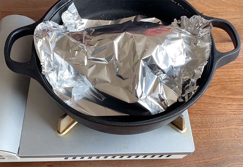 牛肉のハーブ塩釜焼きの作り方