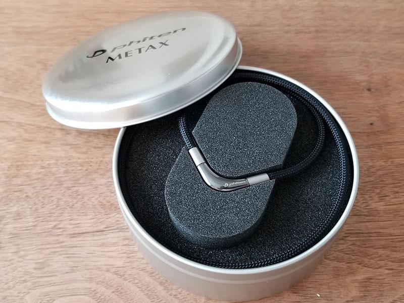 たまたま目に付いたファイテンのチタンネックレスを、ダメ元で買ってみたら・・
