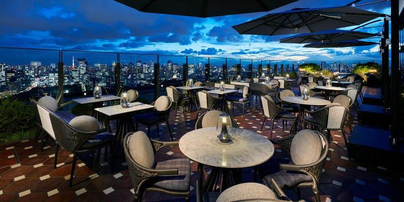 PIGNETO/フォーシーズンズホテル東京大手町 テラス ディナー 夜景