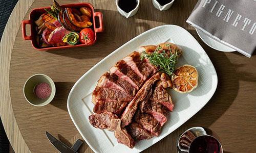 PIGNETO/フォーシーズンズホテル東京大手町 料理 ステーキ