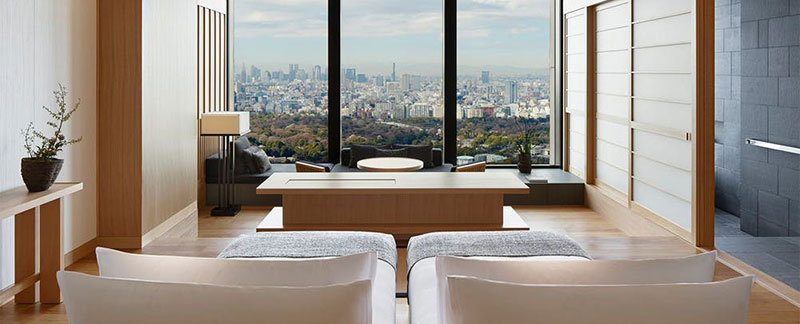 アマン東京 客室