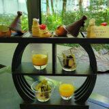 アマン東京「ザ・カフェ by アマン」でのアフタヌーンティーは、森の中のような居心地の癒し空間でした!