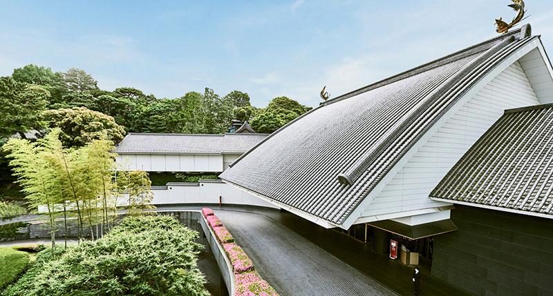 ホテル雅叙園東京 エントランス