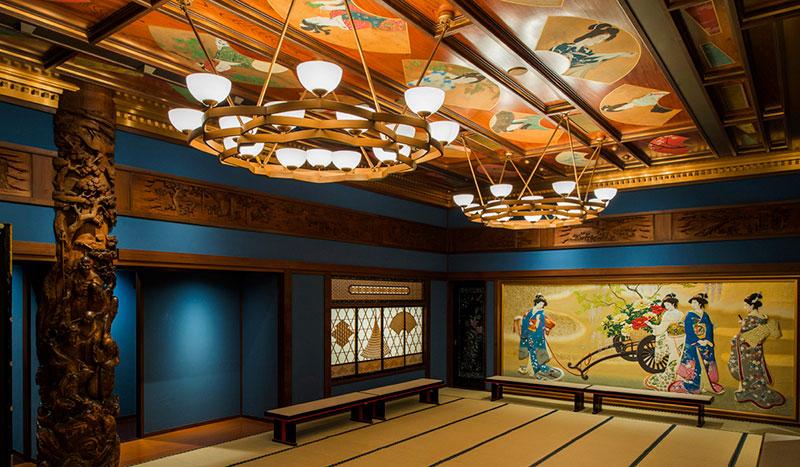 ホテル雅叙園東京 創業時より受け継ぐ数多くの美術工芸品が配された部屋