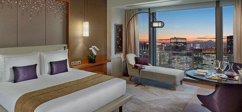 マンダリン オリエンタル 東京 絶景が望める高層階の客室