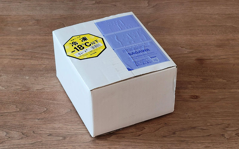 に/に NIBUNNONI CREPE お届け 梱包 レビュー・感想