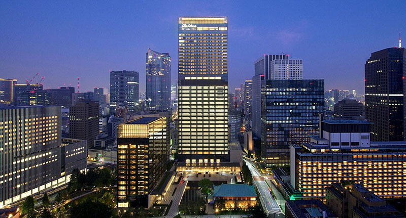 The Okura Tokyo 外観 オークラプレステージタワー