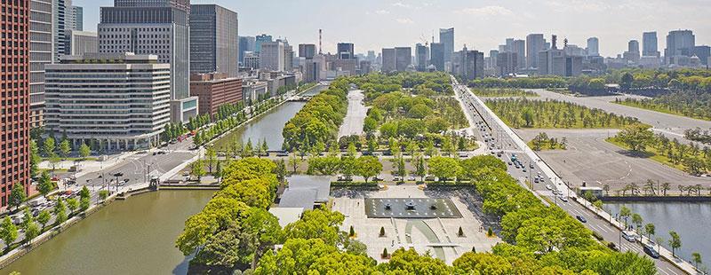 パレスホテル東京 緑地 水辺 ラグジュアリーホテル