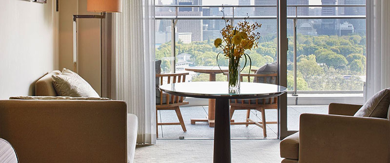 パレスホテル東京 バルコニー付き客室