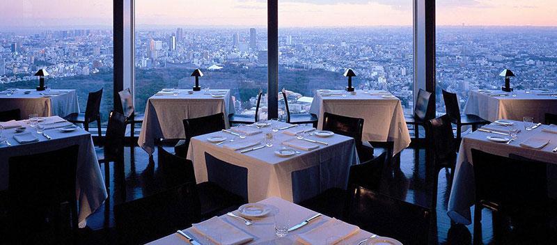 パークハイアット東京 レストラン  ラグジュアリーホテル