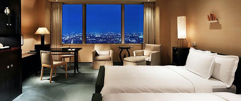パークハイアット東京 客室内  ラグジュアリーホテル