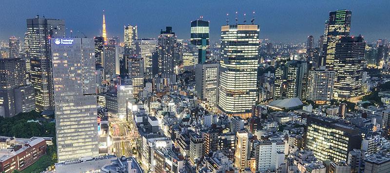 ザ・プリンスギャラリー 東京紀尾井町 夜景 ラグジュアリーホテル