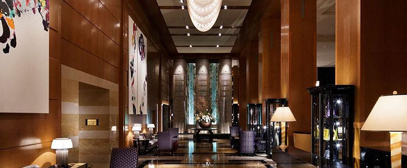 ザ・リッツ・カールトン東京 館内 ラグジュアリーホテル