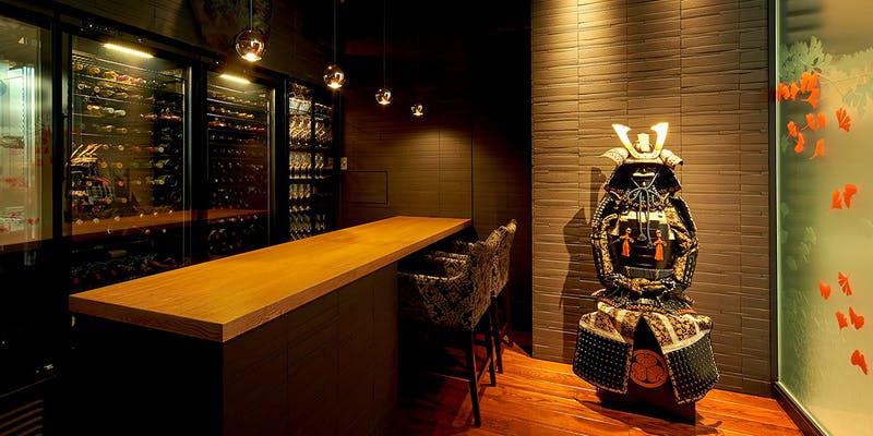 SAMURAI dos Premium Steak House 八重洲鉄鋼ビル店 入り口