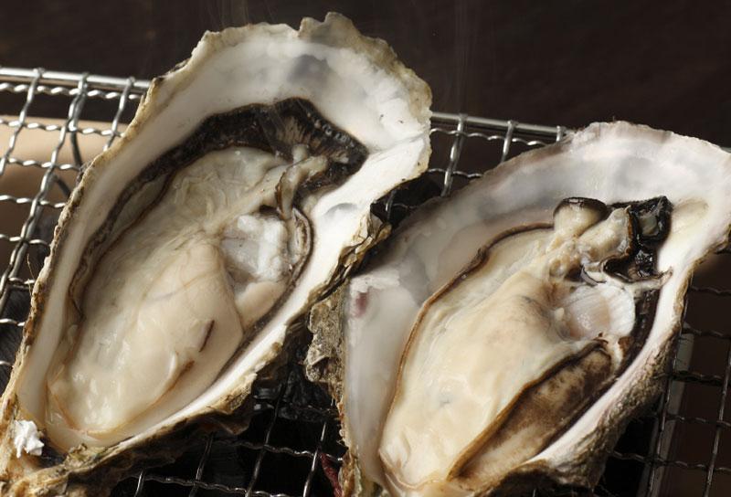 北海道厚岸産の牡蠣