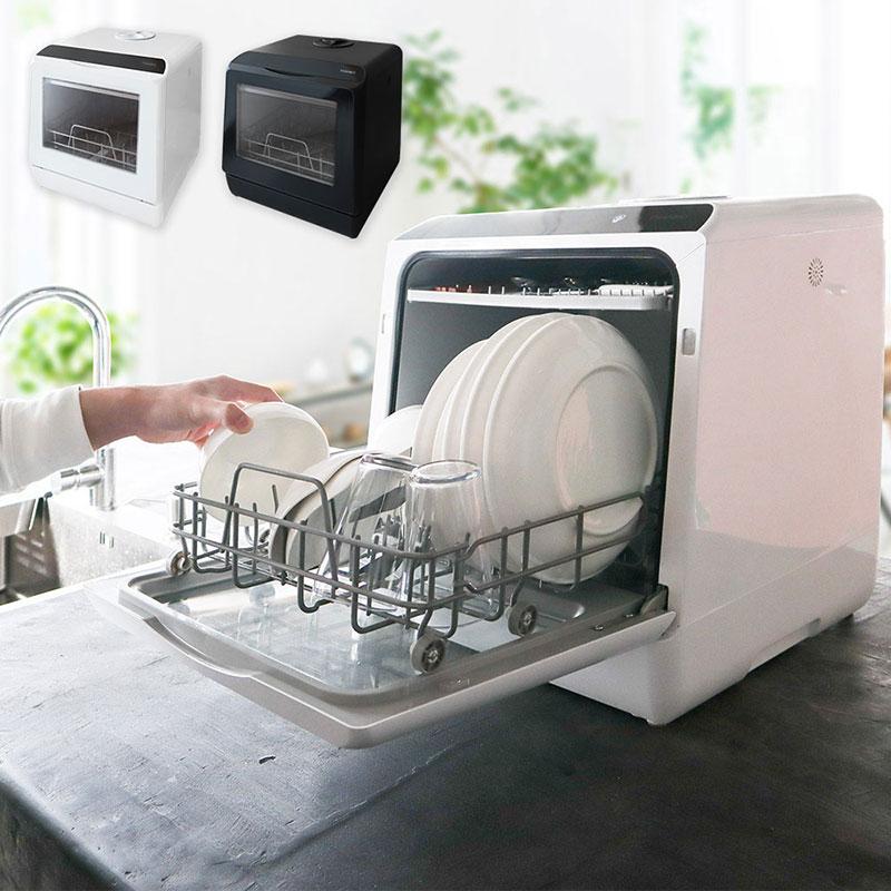 水道いらずのタンク式食器洗い乾燥機「ラクア」サンコーのおすすめ家電