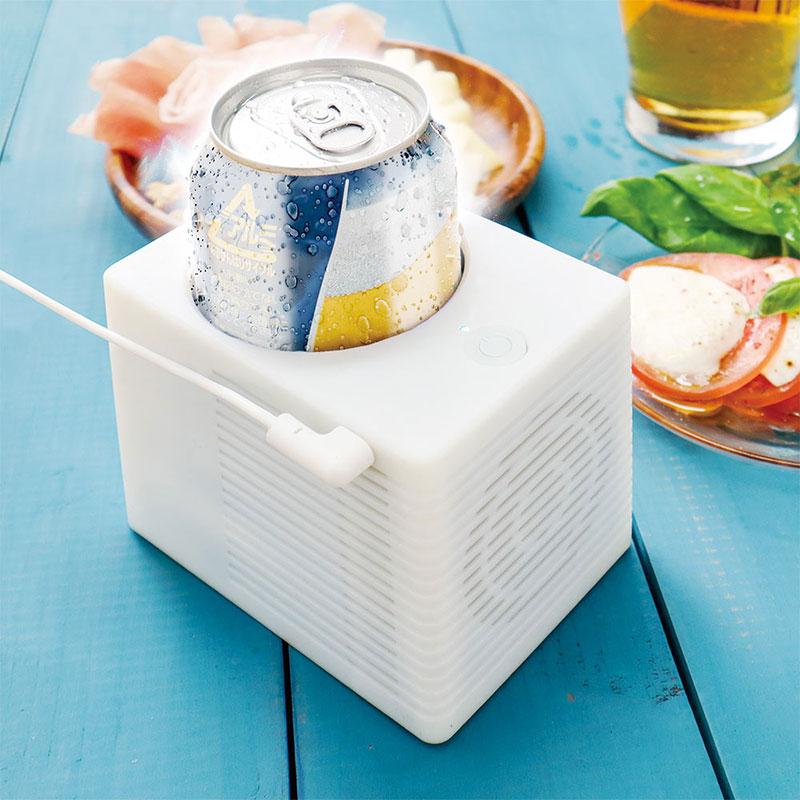 缶をキンキンに保冷「USB CanCooler」サンコーのおすすめ家電