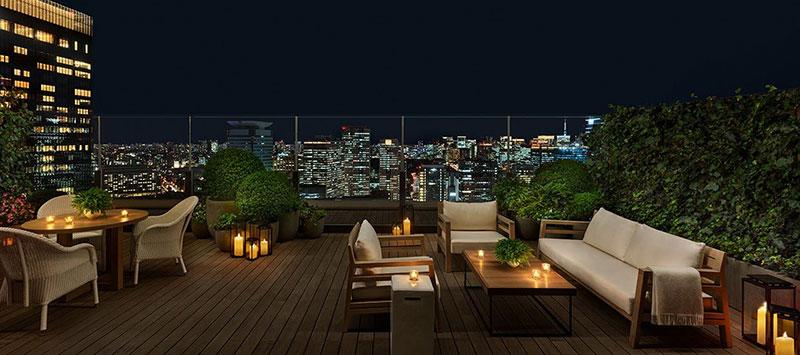 東京エディション虎ノ門 レストラン テラス