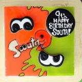 スプラトゥーン2をモチーフにしたバースデーケーキをcake.jpでオーダーしてみました。
