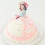 女の子に人気!ドールケーキ(ドレスケーキ)がネット通販でオーダーできるお店