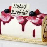 誕生日向けロールケーキ~美味しそう!可愛い!面白い!