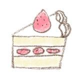 ショートケーキのイラスト | 無料で使える!誕生日のフリー素材(商用利用・加工可)