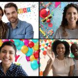 【Zoom誕生日会】ズームを使ってリモート誕生日サプライズパーティーをする方法
