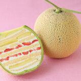 人気の「丸ごとメロンケーキ」を食べてみたら、めっちゃ美味しかった!