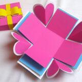 サプライズボックスの作り方〜基本のテンプレート素材から仕掛けのアイデアまで